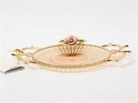 Фруктовница Rosaperla Роза 25 см