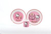 Детский набор Thun Розовая Китти 3 предмета
