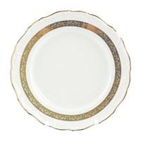 Блюдо круглое Thun Мария Луиза золотая лента 30 см