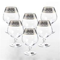 Набор бокалов для бренди Bohemia Анжела Панто V-D 400 мл(6 шт)