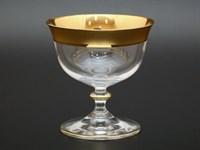 Набор креманок Bohemia Матовая полоса 105мл (2 шт)