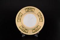 Набор тарелок Falkenporzellan Diadem Green Mint Gold 23см(6 шт)