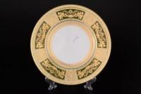 Набор тарелок Falkenporzellan Diadem Green Mint Gold 27см(6 шт)