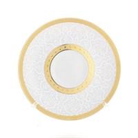 Набор блюдец Falkenporzellan Constanza Diamond White Gold (6 шт)