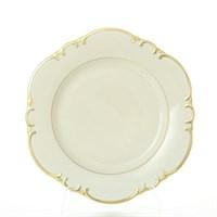 Набор тарелок Leander Антония Отводка золото слоновая кость 27см(6 шт)
