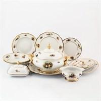 Столовый сервиз на 6 персон Sterne porcelan Фрукты 27 предметов