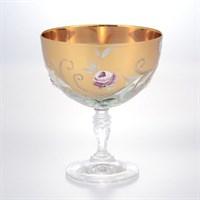 Набор фужеров для мартини Bohemia Алые розы Смальта 305мл (6 шт)