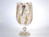 Ваза золото Bohemia Max Crystal 38 см