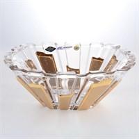 Фруктовница 31 см PIANO GOLD BOHEMIA TREASURY