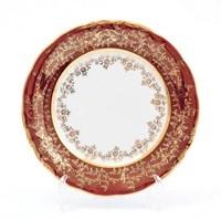 Набор тарелок Sterne porcelan Красный лист 19 см(6 шт)