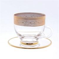 Набор чайных пар (12 пр ) GOLD TIMON