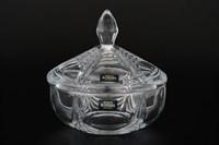 Конфетница с крышкой Crystalite Bohemia Orion 15 см