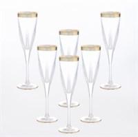 Набор фужеров для шампанского Bohemia Fusion