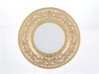 Набор глубоких тарелок Falkenporzellan Alena 3D Creme Gold Constanza 23 см(6 шт)