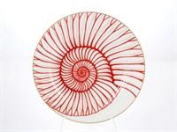 Набор тарелок Falkenporzellan Corallo Red Gold 21 см (6 шт)