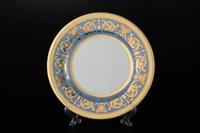 Набор тарелок Falkenporzellan Imperial Blue Gold 21 см(6 шт)