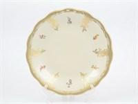Блюдо круглое Carlsbad Аляска Мелкие цветы Слоновая кость 30 см