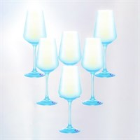 Набор бокалов для вина Crystalex Bohemia Sandra 250 мл (6 шт)