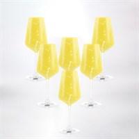 Набор бокалов для вина Crystalex Bohemia Sandra 350 мл (6 шт)