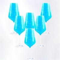 Набор бокалов для вина Crystalex Bohemia Sandra 550 мл (6 шт)