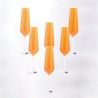 Набор фужеров для шампанского Crystalex Bohemia Sandra 200 мл (6 шт)