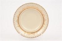 Набор глубоких тарелок Leander Антония Золотой узор слоновая кость 23 см