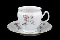 Набор чайных пар бочка Bernadotte Дикая роза золото 240 мл(6 пар)