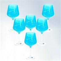Набор бокалов для вина Crystalex Bohemia Sandra 570 мл (6 шт)
