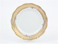 Набор тарелок Carlsbad Аляска Золотая роспись (6 шт)24см