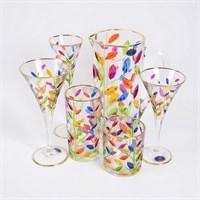 Набор Art Decor Laurus 7 предметов, графин и стаканы (6 шт)