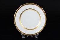 Набор тарелок Falkenporzellan Constanza Diamond White Gold 17см(6 шт)