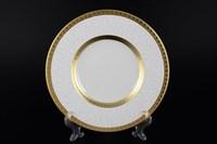 Набор тарелок Falkenporzellan Constanza Diamond White Gold 29см(6 шт)
