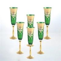Анжела набор фужеров  для шампанского AS Crystal 190 мл