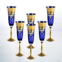 Анжела набор фужеров для шампанского AS Crystal 190 мл (6 шт)
