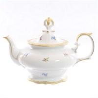 Чайник заварочный Queen's Crown Мелкие цветы 1350мл