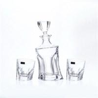 Набор для виски Crystalite Bohemia Acapulco 3 предмета