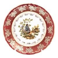 Набор тарелок Roman Lidicky Фредерика Охота Красная 19 см(6 шт)