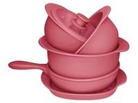 Набор посуды Oxford 5 предметов (3 кастрюли 23/26/28см, 1 сотейник 24см, 1 сковорода гриль29см)