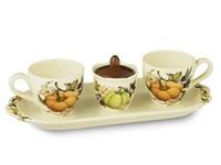 Чайный сервиз NUOVA CER Тыква 5 предметов