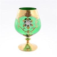 Набор бокалов для бренди Bohemia Smalt зелёная 400мл (6 шт)