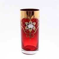 Набор стаканов для воды Bohemia Smalt красная (6 шт)