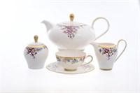 Чайный сервиз Falkenporzellan PBC-Carinzia Gold 6 персон 17 предметов