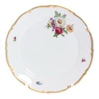 Блюдо круглое Queen's Crown Мейсенский букет 30 см