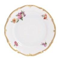 Набор тарелок Queen's Crown Мейсенский букет 17 см