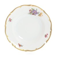 Набор тарелок глубоких Queen's Crown Мейсенский букет 23 см