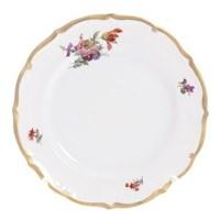Набор тарелок Queen's Crown Мейсенский букет 25 см