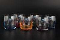 Набор стаканов для виски Crystalite Bohemia Идеал Арлекино 290мл (6 шт)