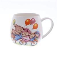 Кружка бочка Royal Classics Huawei ceramics Медведи