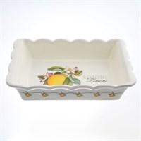Блюдо для запекания NUOVA CER Лимоны 25,5см