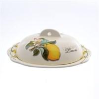 Масленка с крышкой NUOVA CER Лимоны